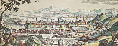 Painting - Hungary Buda, 1638 by Granger