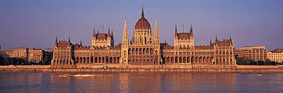 Hungary Travel Photograph - Hungary, Budapest, View by Panoramic Images