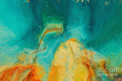 Worship God Painting - Hunger For The Mind Of Christ. Mark 4 24 by Mark Lawrence