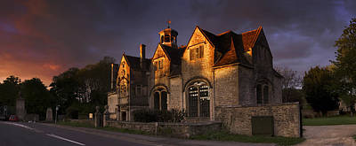 Photograph - Hungerford Almshouses by John Chivers