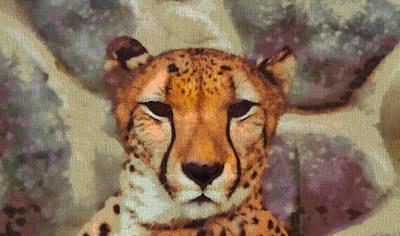 Hungry Cheetah Art Print by Dan Sproul