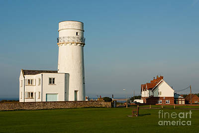 Hunstanton Lighthouse Norfolk Uk Art Print by John Edwards
