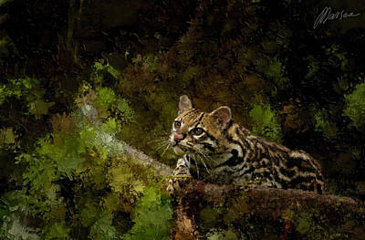 Hunter Art Print by Marina Likholat