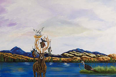 Painting - Hunters Karma by Susan Culver