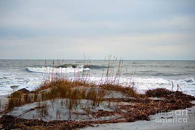 Photograph - Hunting Island Beach by Sandra Clark