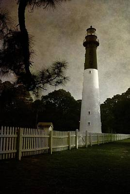 Photograph - Hunting Island Lighthouse by Photography  By Sai