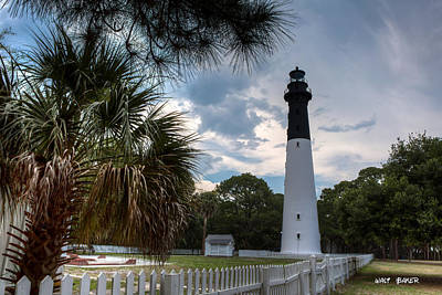 Photograph - Hunting Island State Park by Walt  Baker
