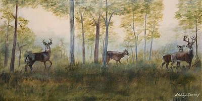 Painting - Hunting Season by Shirley Lawing