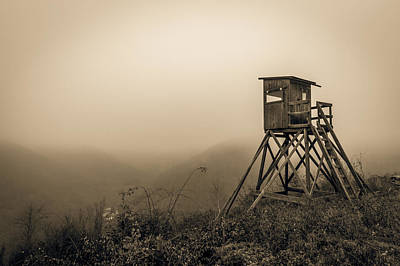 Hunting Tower Art Print by Mah FineArt
