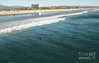 Photograph - Huntington Beach - 10 by Gregory Dyer
