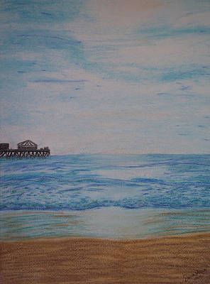 Painting - Huntington Beach by Dawn Marie Black
