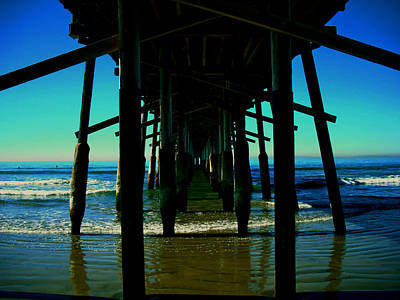 Photograph - Huntington Beach Pier by Carol Tsiatsios