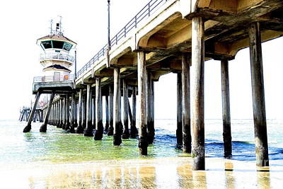 Photograph - Huntington Beach Pier by Margie Amberge