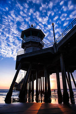 Photograph - Huntington Pier - 1 by Jed Smith