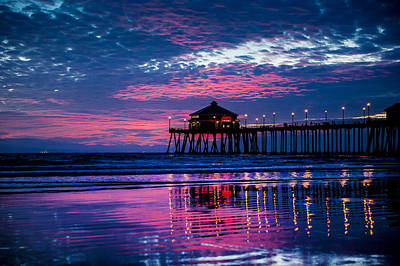 Photograph - Huntington Pier - 2 by Jed Smith