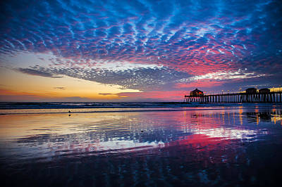 Photograph - Huntington Pier - 3 by Jed Smith