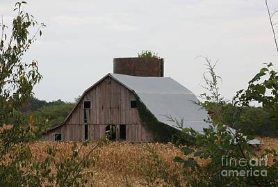 Photograph - Huntsville Highway 24 Barn by Kathy Cornett