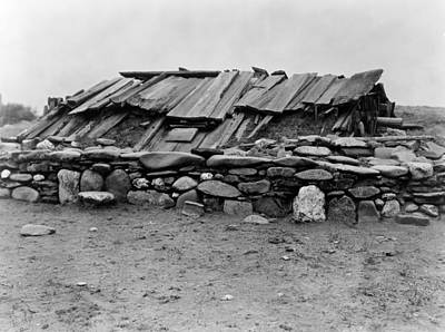 Hupa Sweat Lodge, C1923 Art Print by Granger