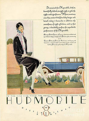 Hupmobile 1929 1920s Usa Cc Cars Womens Art Print by The Advertising Archives