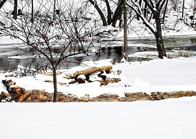 Photograph - Huron River by Gena Weiser