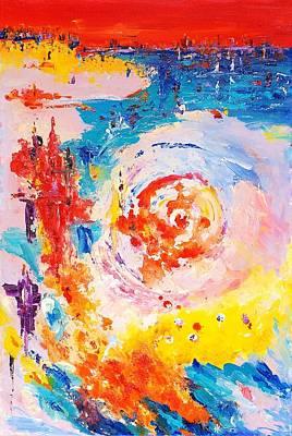 Hurricane 1 Art Print by Helen Kagan