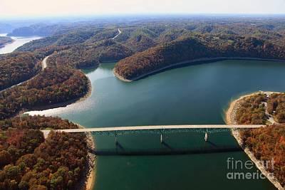 Photograph - Hurricane Bridge 2 by Louis Colombarini
