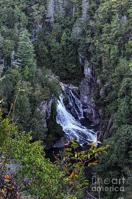 Photograph - Hurricane Falls by Barbara Bowen