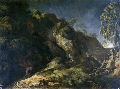 Painting - Hurricane by Gaspard Dughet