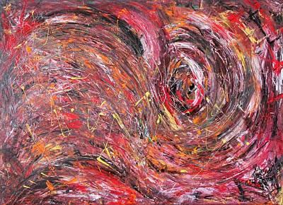 Carter.oil Painting - Hurricane by Ilir Jacellari