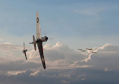 Of Hurricanes Photograph - Hurricane - Opening Moves by Pat Speirs