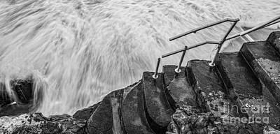 Hurricane Sandy Damaged Steps Original