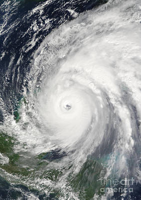 Photograph - Hurricane Wilma  by Planet Observer