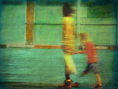 Hurry Child Hurry  Art Print