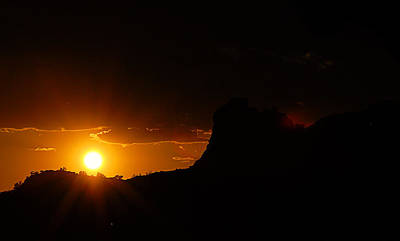 Desert Digital Art - Hurry Sundown by Ron Regalado