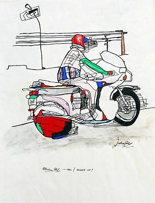 Suzuki Mixed Media - Hurry Up by Dietmar Scherf