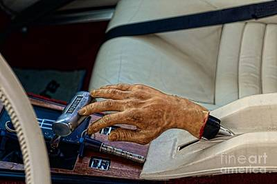 Hurst Shifter And Hand Brake Art Print by Paul Ward