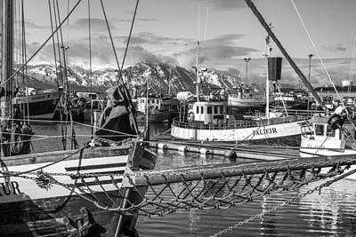 Photograph - Husavik Boats by For Ninety One Days