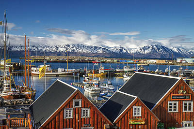 Photograph - Husavik Photo Color by For Ninety One Days