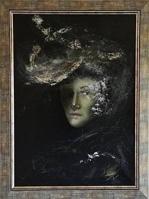 Hush By Mihaela Ghit Art Print by Mihaela Ghit