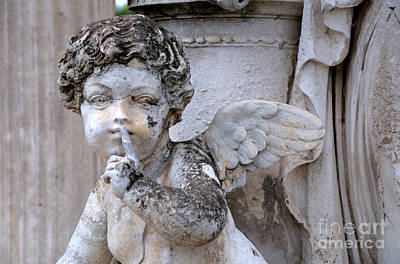 Hush Little Angel Print by Patrice Dwyer