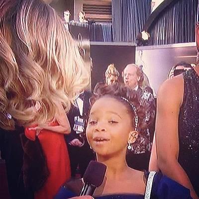Oscars Photograph - Hushpuppy! Love Her #hushpuppy by Ariana Hernandez