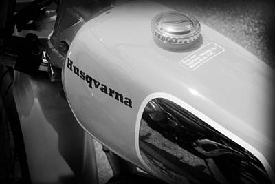 Photograph - Husqvarna by Kelly Hazel