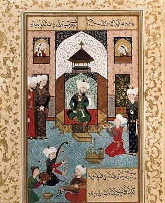 Hussein Baikara 1469-1506. The Sultan Art Print