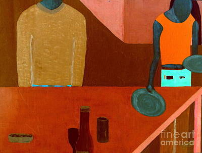 Art Print featuring the painting Hussongs Cantina Baja by Bill OConnor