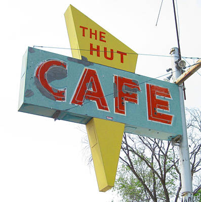 Photograph - Hut Cafe by Larry Hunter
