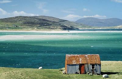 Hut On West Coast Of Isle Art Print