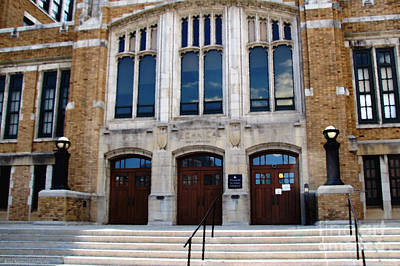 Photograph - Hutchinson Central Technical High School by Rose Santuci-Sofranko