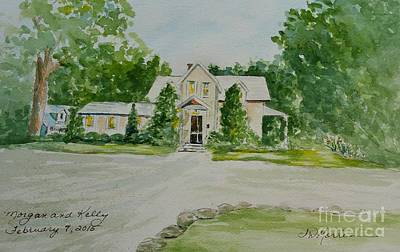 Painting - Hutchinson House by Jill Morris