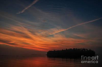 Hutchinson Island Sunrise Print by Scott Thorp