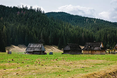 Stellar Interstellar Royalty Free Images - Huts In The Hills Royalty-Free Image by Pati Photography